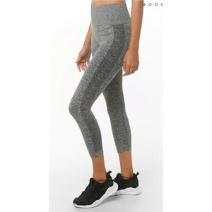 Cropped Active Seamless Leggings